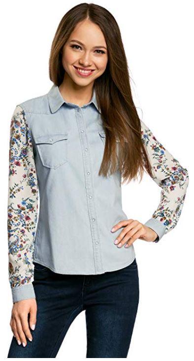 camisa western mujer